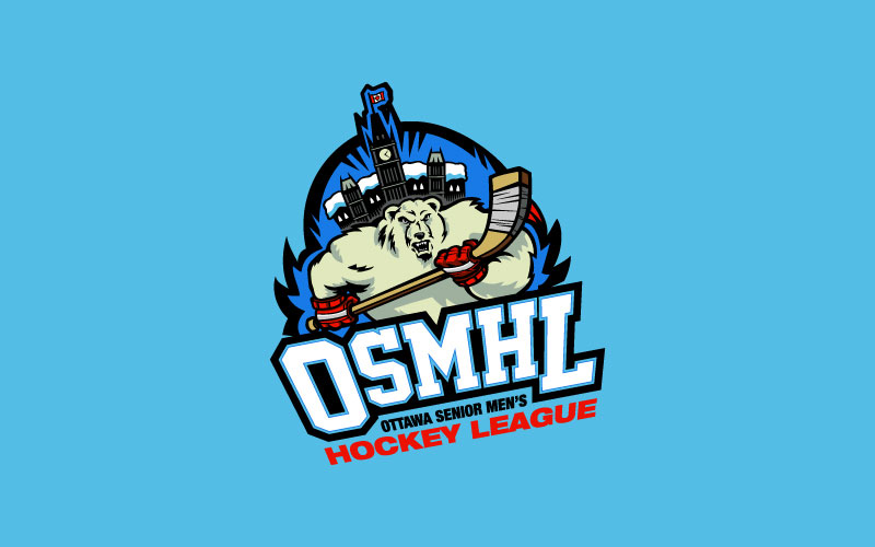 Ottawa Senior Men's Hockey League logo